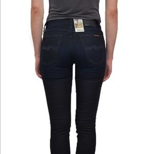"""Nude Jeans Skinny Lin """"night fly"""" Jeans w26 L34"""